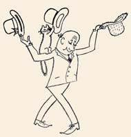 Рис. В.Алексеева к сказке Д.Биссета «Три шляпы мистера Кепи»