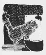 Ил. Е.Чарушина к собств. книге «Васька, Бобка и крольчиха» (Л.: Детгиз, 1934)
