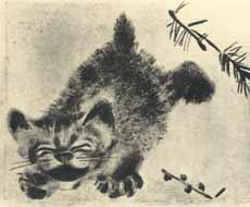 Ил. Е.Чарушина к книге В.Бианки «Мурзук» (М.-Л.: ГИЗ, 1928)