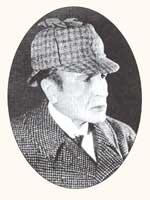 Уильям Джиллет, один из лучших исполнителей роли Шерлока Холмса