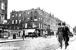 Бейкер-стрит в начале XX века
