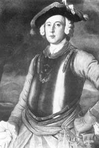 Единственный подлинный портрет барона фон Мюнхгаузена. Худож. Г.Брукнер, 1752 (Фридриху Иерониму 32 года)