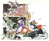 Ил. В.Алфеевского к сказке Э.Т.А.Гофмана «Щелкунчик и Мышиный Король»
