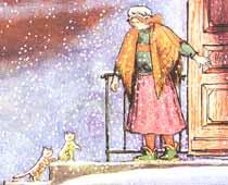 Рис. В.Конашевича к английской песенке «Котята» в пер. С.Маршака